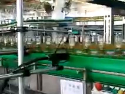 喷码机在啤酒生产线应用