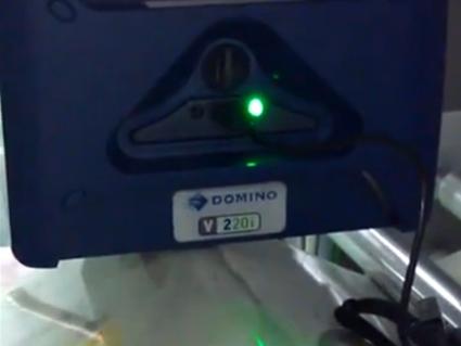 多米诺V220i在奶粉行业上的应用
